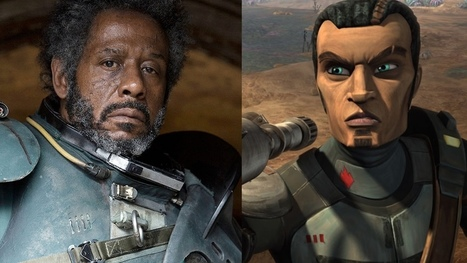 Forest Whitaker's STAR WARS: ROGUE ONE Surprise CLONE WARS Character Revealed | Discover Your Inner Geek | Scoop.it
