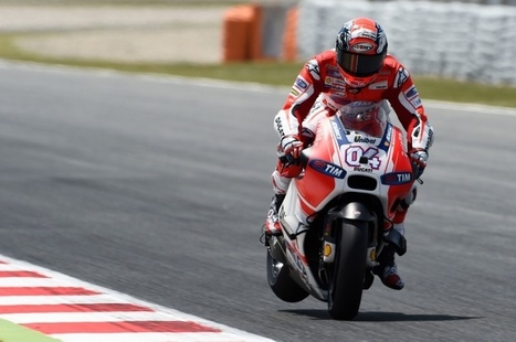 Dovizioso: Power and movement hard to manage | Ductalk Ducati News | Scoop.it