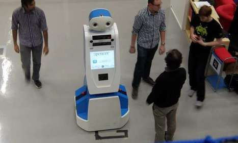 Robot to help passengers find their way at airport | Robotic applications | Scoop.it