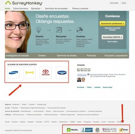 Como diseñar la Home de tu página web para conseguir tus objetivos | Las TIC y la Educación | Scoop.it