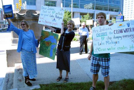 BP Refinery Leaks Oil Into Lake Michigan   GMOs & FOOD, WATER & SOIL MATTERS   Scoop.it