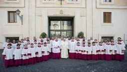 Pope lets record team into the Sistine Chapel | medici.tv - newsfeed | Scoop.it