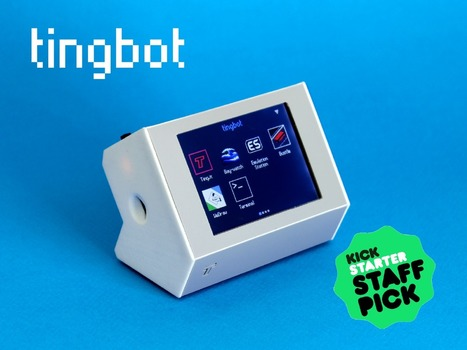 Tingbot - Raspberry Pi made even more fun! | Raspberry Pi | Scoop.it