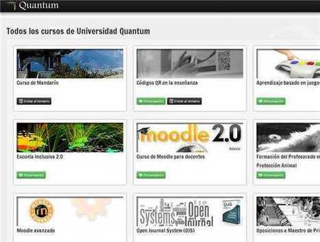 Universidad Quantum - Cursos online gratuitos en español   Entornos Personales de Aprendizaje   Scoop.it