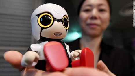 Toyota wants this baby robot to be your friend | TheFutureIsNow | Scoop.it