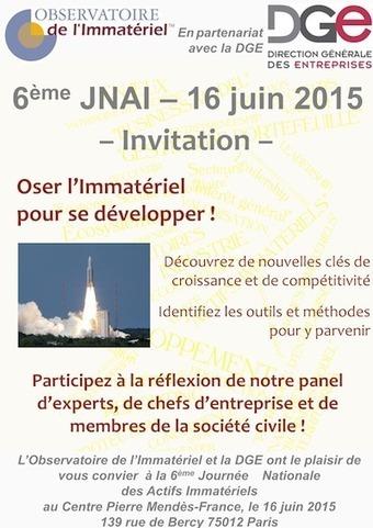 Save the date : 6ème Journée Nationale des Actifs Immatériels | Entretiens Professionnels | Scoop.it