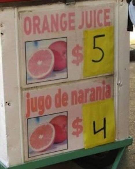 From lost to the carta: las peores traducciones de menús | dataInnovation | Scoop.it