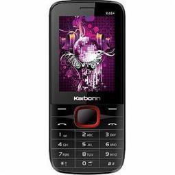 Karbonn K46+ (Black-Red) Price - Buy Karbonn K46+ (Black-Red) Price in India, Best Prices n Review   Karbonn Mobiles   Scoop.it
