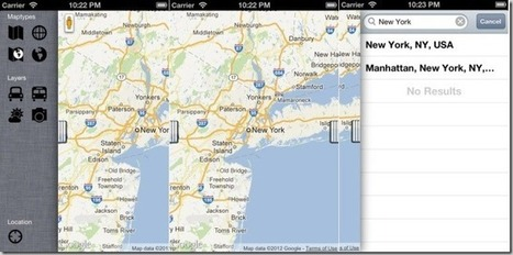 gMaps Browser For iOS 6 Brings Google Maps, Street View And Weather Updates | WML Cloud | Android Guides | Scoop.it