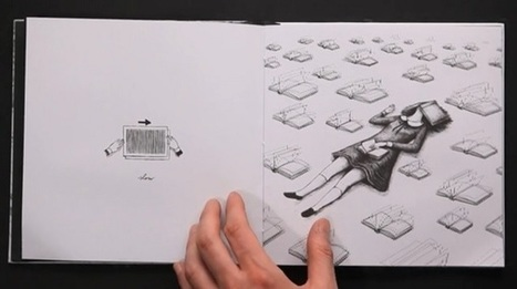 Pop-Up Book Lets You Animate Its Illustrations With A Vintage Technique (video) | The Digital Reader | Ebook and Publishing | Scoop.it