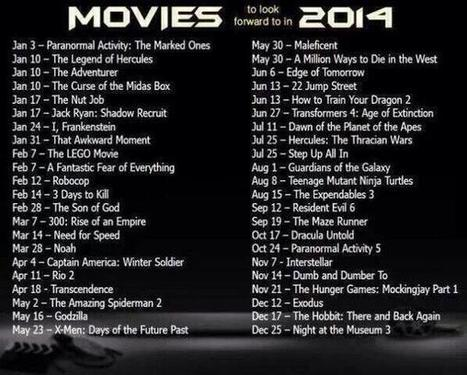 Twitter / FutureInPics: 2014 Movies to Look Forward ...   Media, Magic and Miracles   Scoop.it
