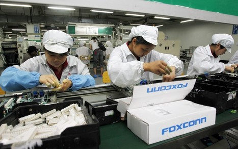 14-year-olds employed on Foxconn factory production line - Telegraph   Tick, Tech, Tock   Scoop.it