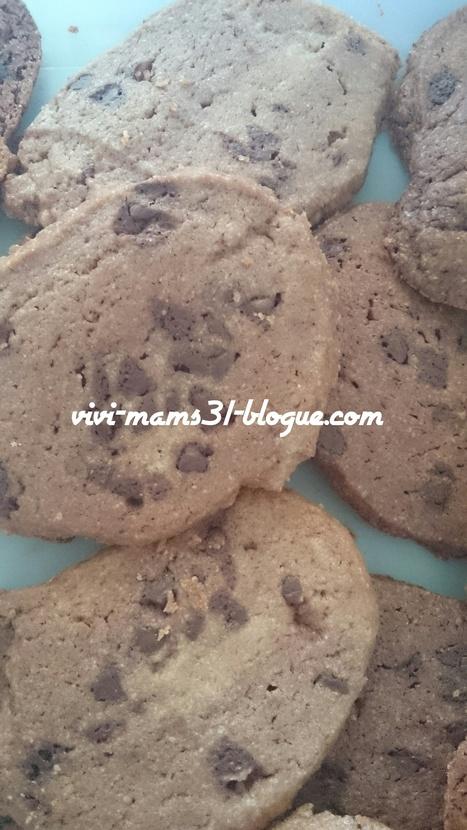 Cookies au chocolat facile à faire avec son enfant {recette} - Maman/femme pratique l'école à la maison , IEF mais pas que | Cuisine , bien être , santé , forme , allaitement, maman, femme, famille, info | Scoop.it