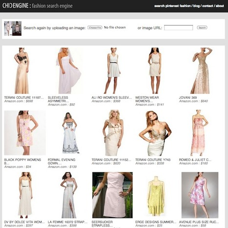 Chic Engine Helps You Find That Dress You Saw on Pinterest | Pinterest | Scoop.it