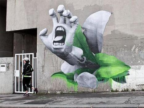 Twitter / saatchi_gallery: Street artist Ludo has merged ... | Le super topic & Michel | Scoop.it