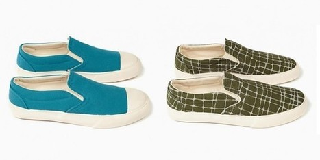 YMC Spring/Summer 2014 Slip-On Sneaker Selection • Selectism | fashion, music & lifestyle | Scoop.it
