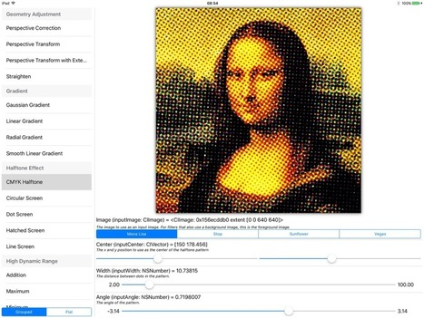 Filterpedia - Core Image Filter explorer | iOS & OS X Development | Scoop.it