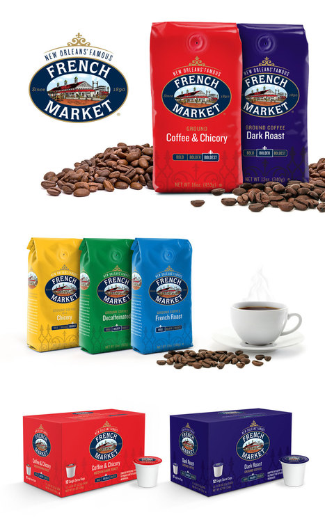 French Market Coffee — Packaging Design - Object 9 | Beverage Industry News | Scoop.it