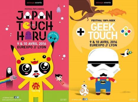 Japan Touch Haru et  Geek Touch les 9 et 10 avril à Lyon | FRED PIXEL FAIT DU JEU  DE ROLE | Scoop.it