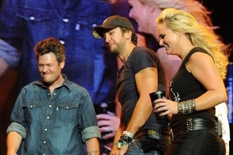 Luke Bryan Talks Blake Shelton and Miranda Lambert's Divorce: 'You Hope They're Happy at the End of the Day' | Restaurants | Scoop.it