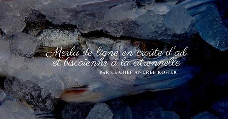 Recette de merlu en croûte d'ail par Andrée Rosier - Essor | Cuisine et cuisiniers | Scoop.it