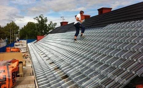 Energía renovable: tejas de vidrio reemplazan paneles solares | Infraestructura Sostenible | Scoop.it