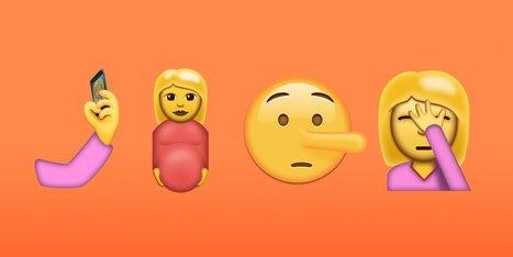 Découvrez les 72 nouveaux emojis : selfie, clown, avocat, face palm, bacon, ¯_(ツ)_/¯… - Blog du Modérateur | Mes ressources personnelles | Scoop.it