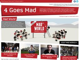 Speaking the unspeakable: 4 Goes Mad season   CharityComms   CW - Usefull Web stuff   Scoop.it
