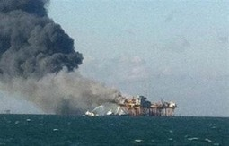 2 missing, 4 badly burned in Gulf platform fire | MN News Hound | Scoop.it