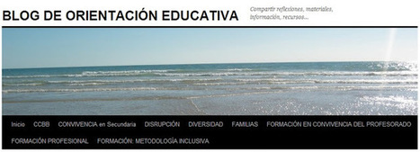 (OrientaPLE's) Blog de Orientación Educativa de Isabel Ibarrola, Navarra | Orientación Educativa - Enlaces para mi P.L.E. | Scoop.it