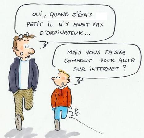 Informatique et Internet: le conflit des générations - refOK, référencer votre site ou blog sur Internet | Seniors | Scoop.it