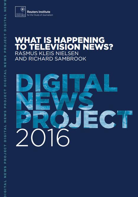 A l'ère du digital, la télévision sur le chemin de la presse papier | DocPresseESJ | Scoop.it