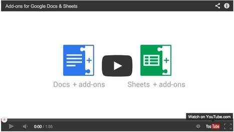 New: Enhance Your Google Drive with These Wonderful Add-ons ~ Educational Technology and Mobile Learning | Web 2.0 Tools in the EFL Classroom | Scoop.it
