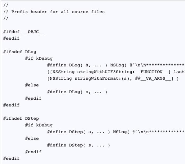 More Informative NSLog's with Prefix Headers | iPhone and iPad development | Scoop.it