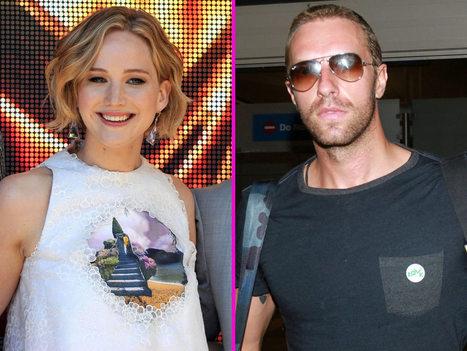 Jennifer Lawrence : en mode groupie pour un concert de Chris Martin | Actu' & Innovation Cinéma | Scoop.it