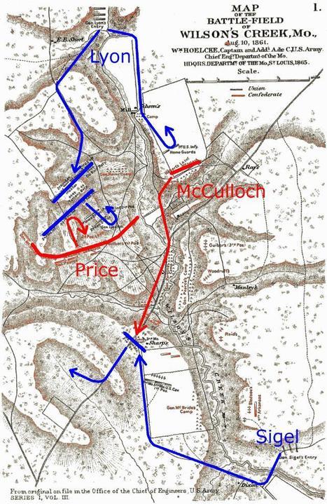Guerre de Sécession, la lutte pour les États-frontière : le Missouri - Histoire pour Tous | GenealoNet | Scoop.it