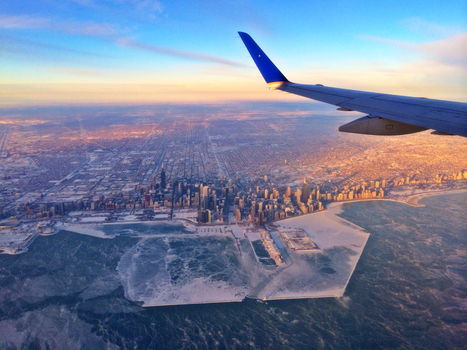 Polar Vortex Effects Seen From Skies Above Chicago | Daily Distractions | Scoop.it