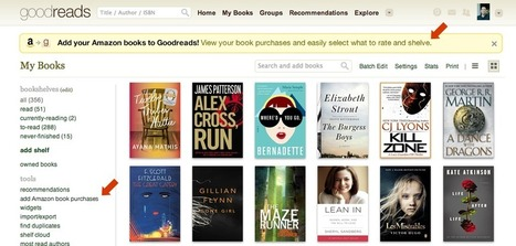 Amazon Sync for GoodReads Now Available in the UK | peace and ebooks | Scoop.it