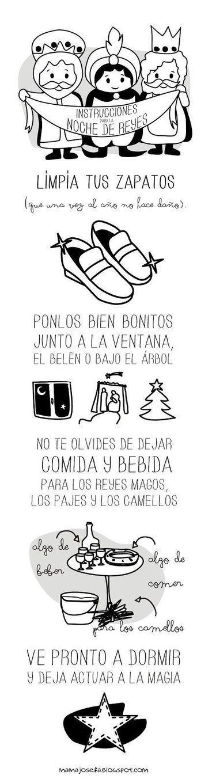 Instrucciones para la Noche de Reyes | Español para los más pequeños | Scoop.it