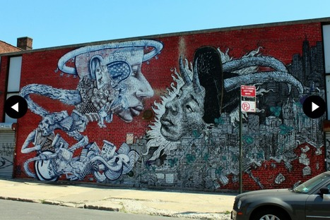 Photos: 28 Pieces Of Amazing Street Art At Bushwick Five Points | World of Street & Outdoor Arts | Scoop.it
