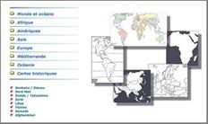Des cartes géographiques à volonté | Educadores innovadores y aulas con memoria | Scoop.it