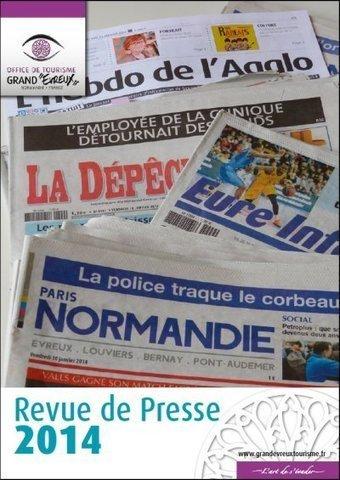 Revue de Presse | L'info touristique pour le Grand Evreux | Scoop.it