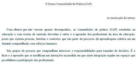 O Termo Comunidade de Prática (CoP) - A construção   Communities of Practice (CoP)   Scoop.it