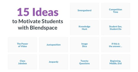 15 Ideas to motivate students using Blendspace | New Web 2.0 tools for education | Scoop.it