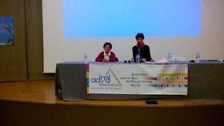 La réunion de l'ADMD à Grenoble, avec le docteur Corinne Van Oost qui pratique l'euthanasie, a réuni 150 personnes | Santé & Médecine | Scoop.it