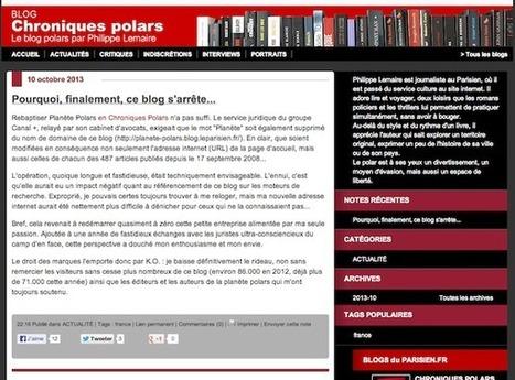 Bal tragique à Canal+ : Planète polars, victime du droit des marques   Droit des Marques   Scoop.it