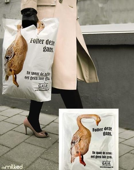 33 Creative Shopping Bag Advertisements | DeMilked | Xposed | Scoop.it