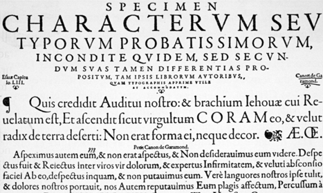 How changing its font to Garamond could save the US government $370m | MA DTCE | Scoop.it