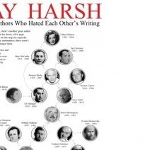 You'll Never Believe Which Famous Authors Hated Each Other's Writing | Visual.ly | Read Ye, Read Ye | Scoop.it