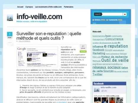 Surveiller son e-reputation : quelle méthode et quels outils ?   Websourcing.fr   CuraPure   Scoop.it